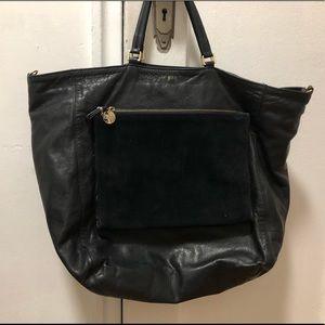 Clare V black bag